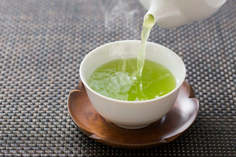 Green tea, Japanese tea