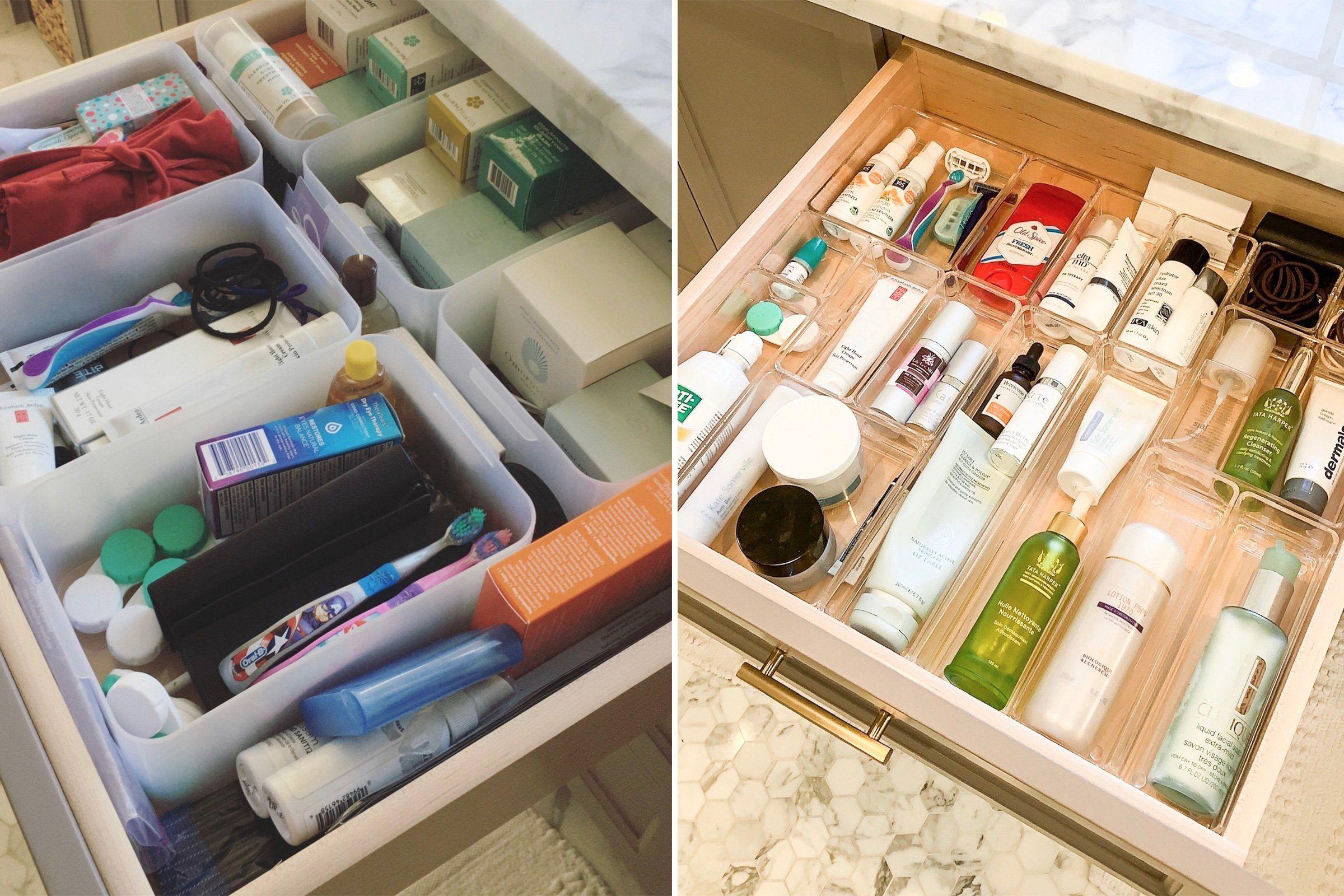 bathroom home organization makeover