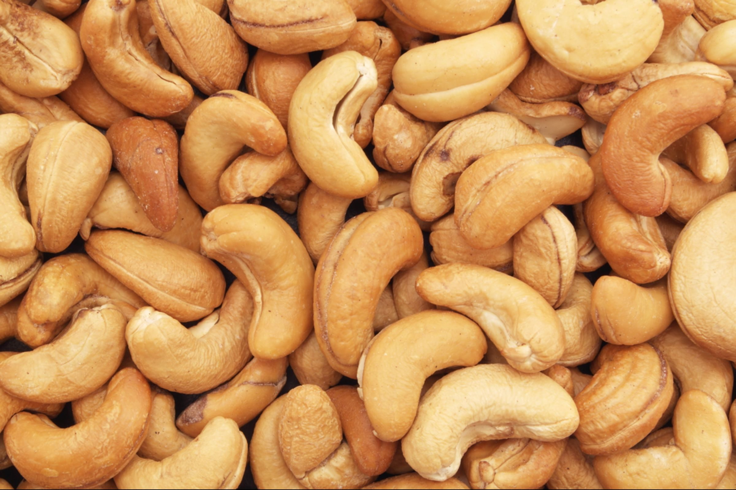 Cashews and other assorted nuts