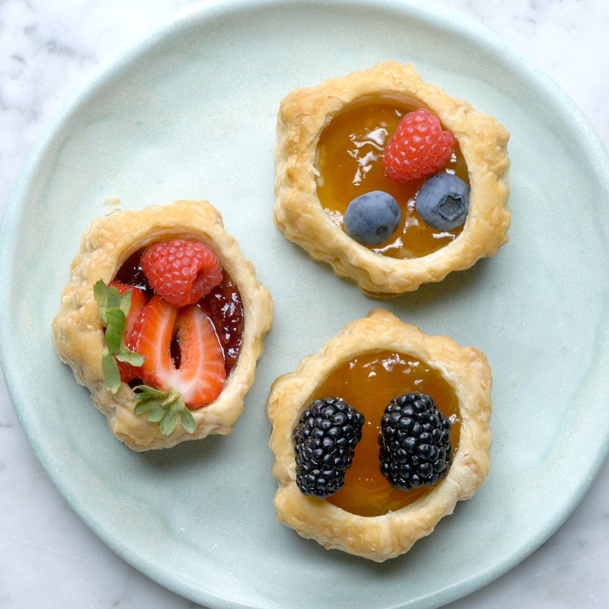 Pastry shell tartlets