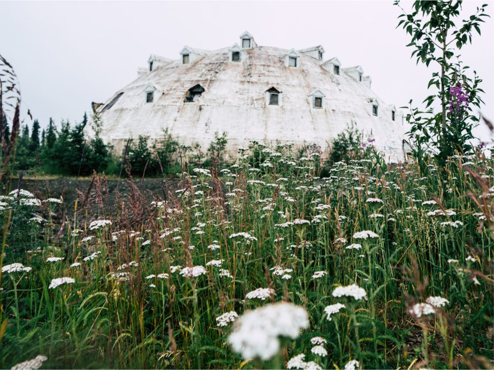 The abandoned Igloo Hotel