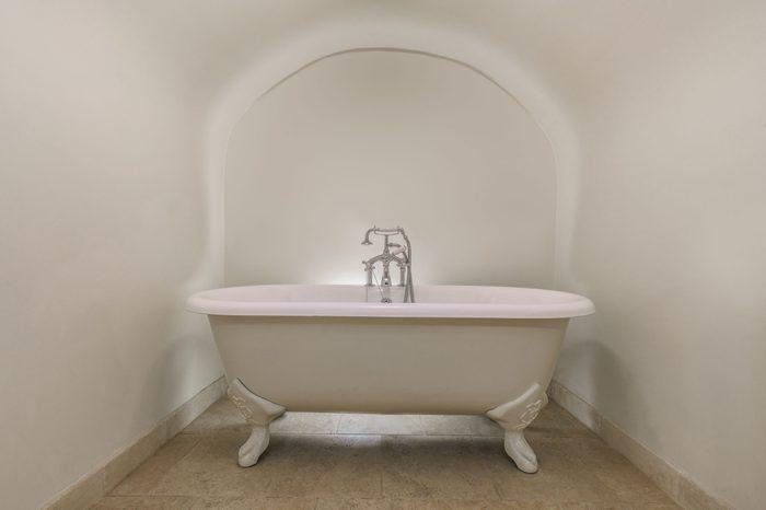 luxury vintage bathtub in a bathroom