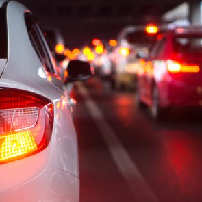Car shakes when braking - car brake lights
