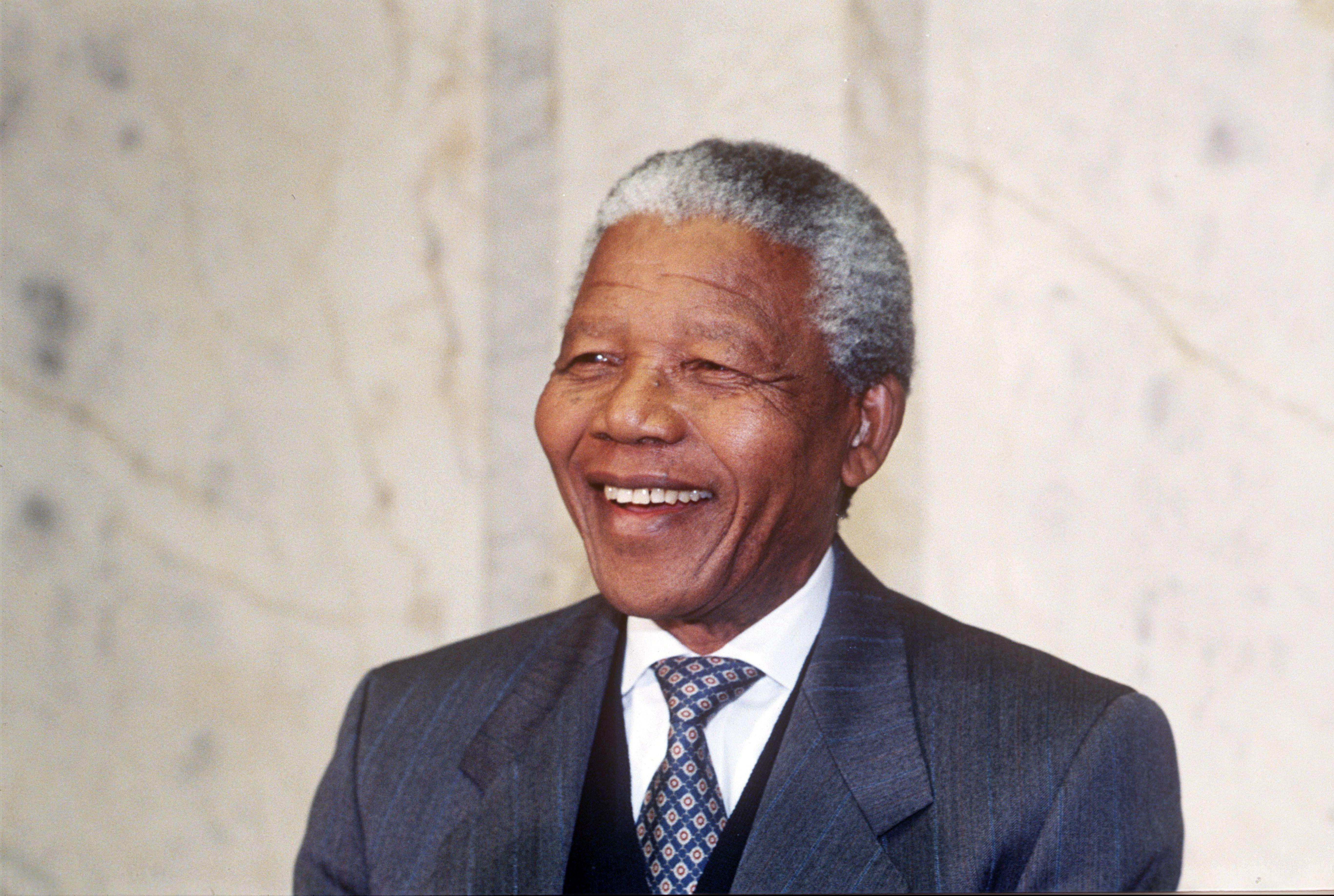 Mandatory Credit: Photo by Ibl/Shutterstock (223659b) Nelson Mandela F W DE KLERK AND NELSON MANDELA MEETING KING CARL GUSTAF OF SWEDEN IN STOCKHOLM, SWEDEN - 1993 President of South Africa from 1994 to 1999