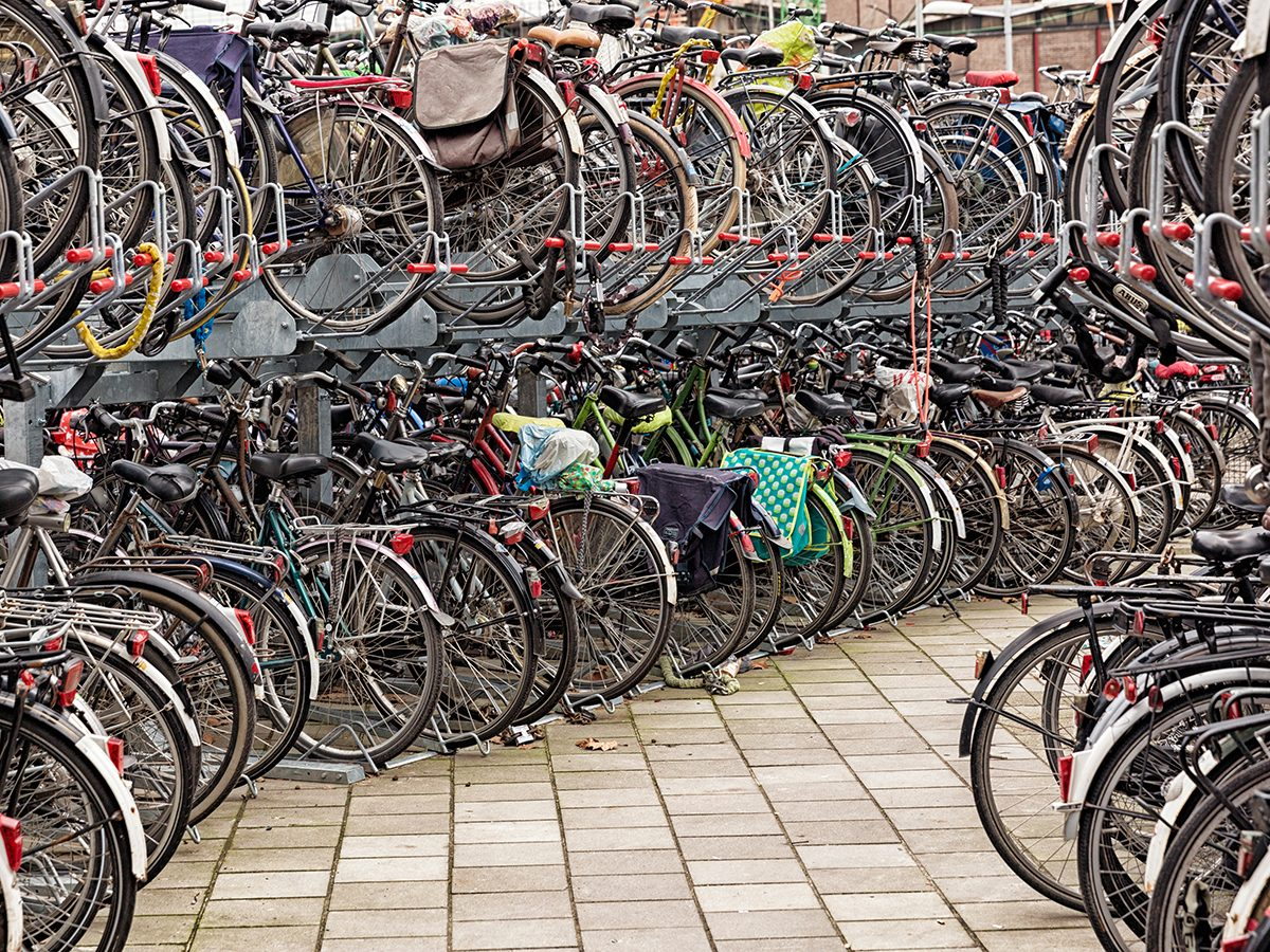 Good news - Bicycle storage in Utrecht, the Netherlands