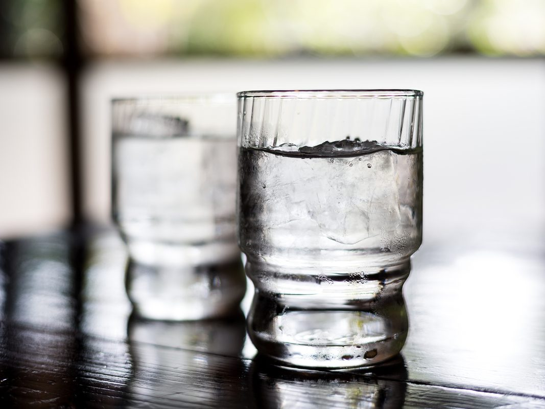 Two glasses of water