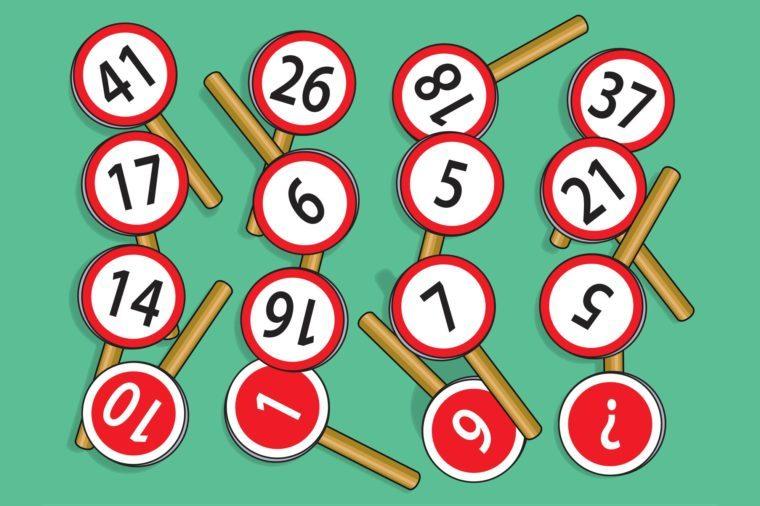 it's a sign math problem illustration