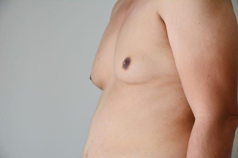 Bare male chest