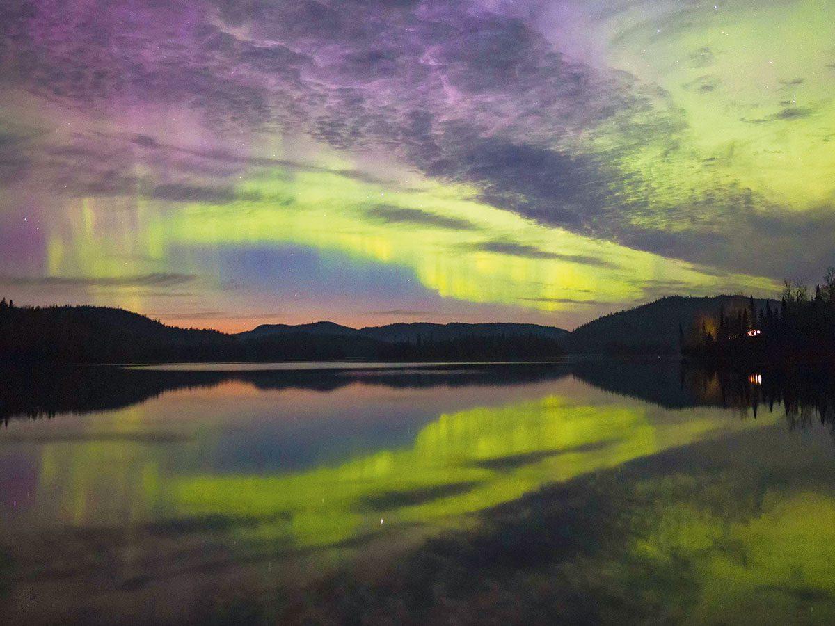 Northern Lights Photography - Whitesand Lake, Ontario
