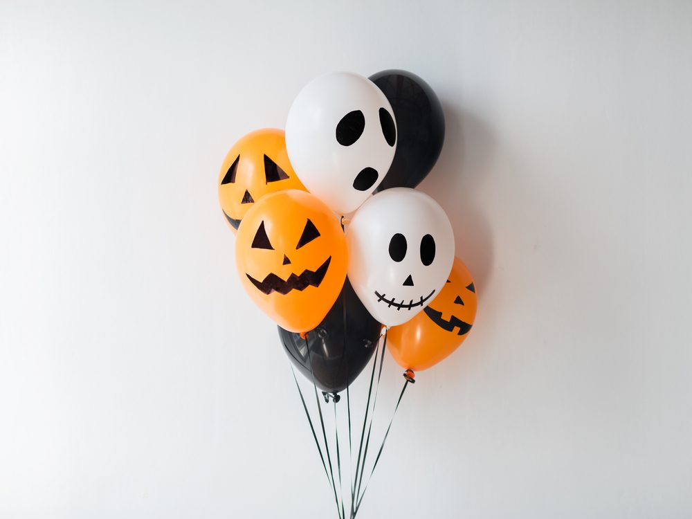 Scary air balloons for Halloween