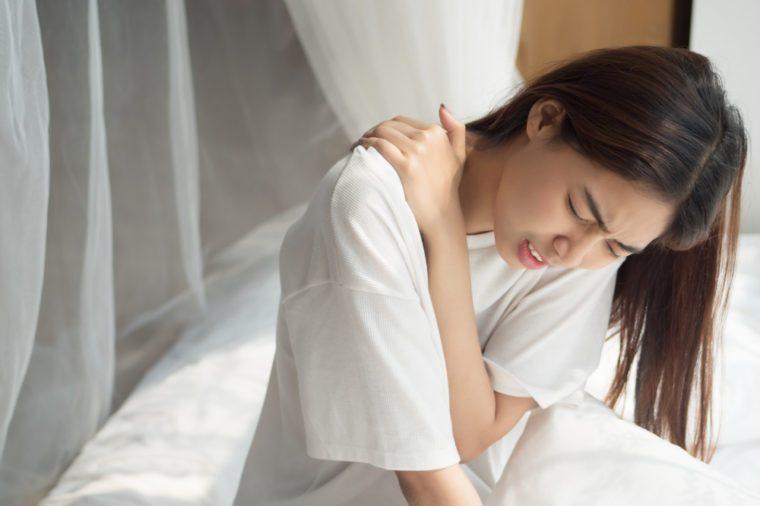 Shoulder blade pain