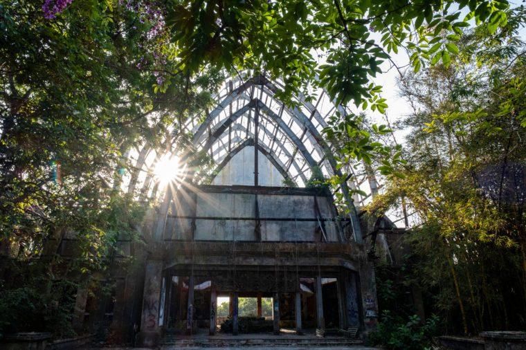 Abandoned theme park, Taman Festival Bali.
