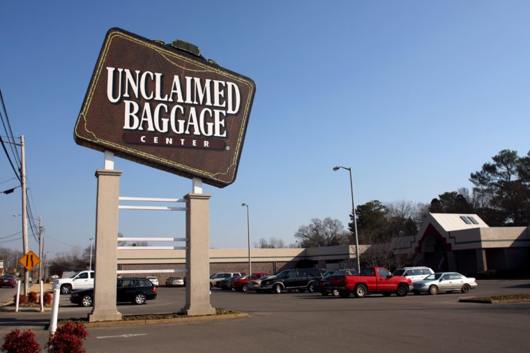 unclaimed baggage alabama