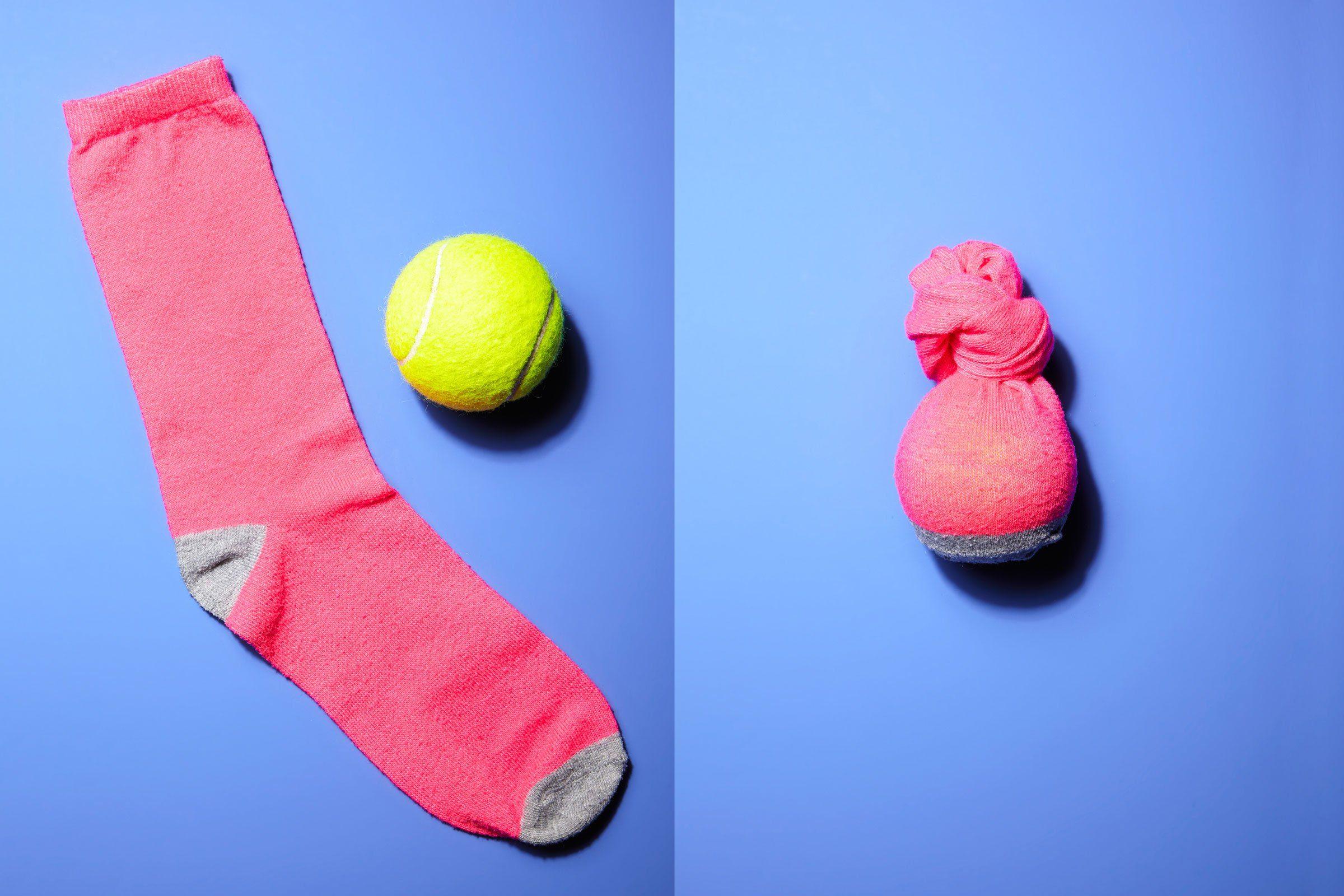 single sock dog toy