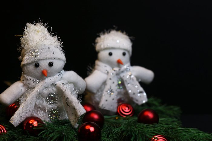 New Year decoration stuffed toys
