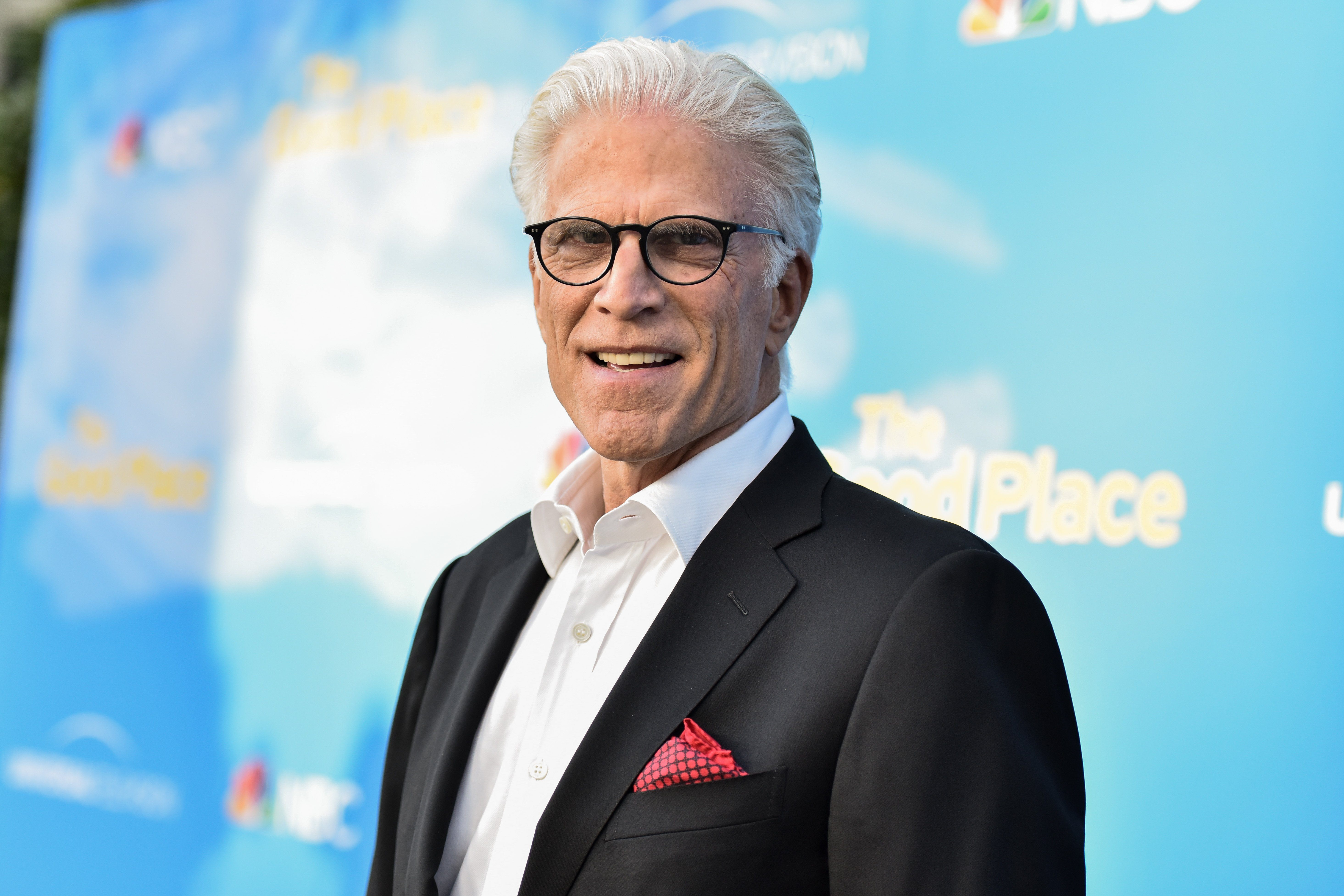 Mandatory Credit: Photo by Rob Latour/Shutterstock (10286637t) Ted Danson 'The Good Place' FYC Event, Arrivals, Saban Media Center, Los Angeles - 07 Jun 2019