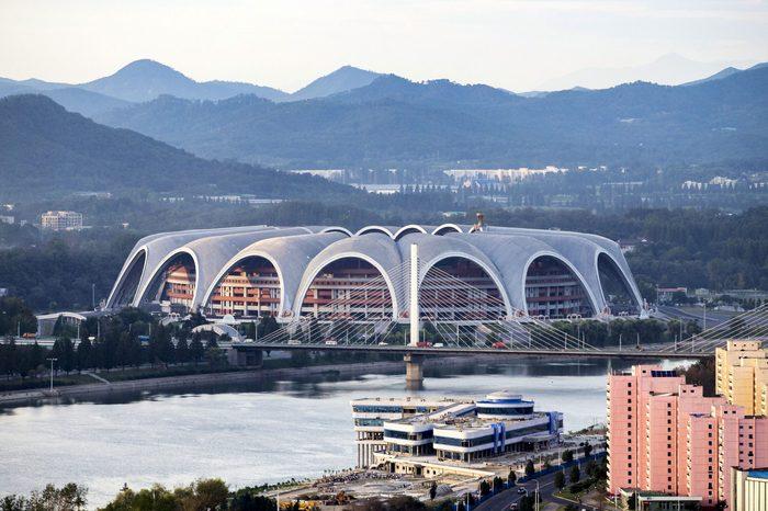 the rungrado 1st of may stadium