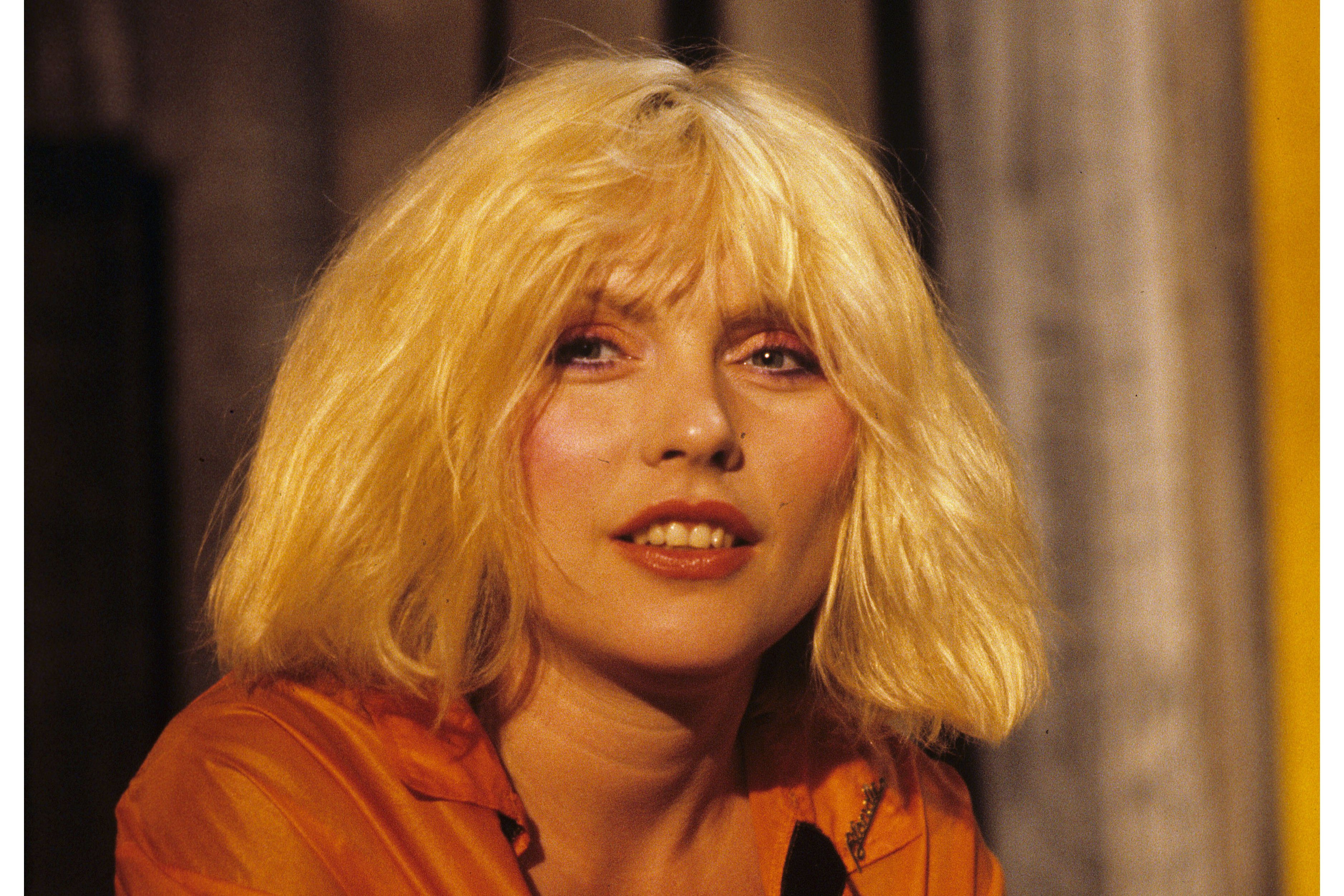 Mandatory Credit: Photo by David Dagley/Shutterstock (85780a) Debbie Harry on 'The Muppet Show' TV show VARIOUS - 1980