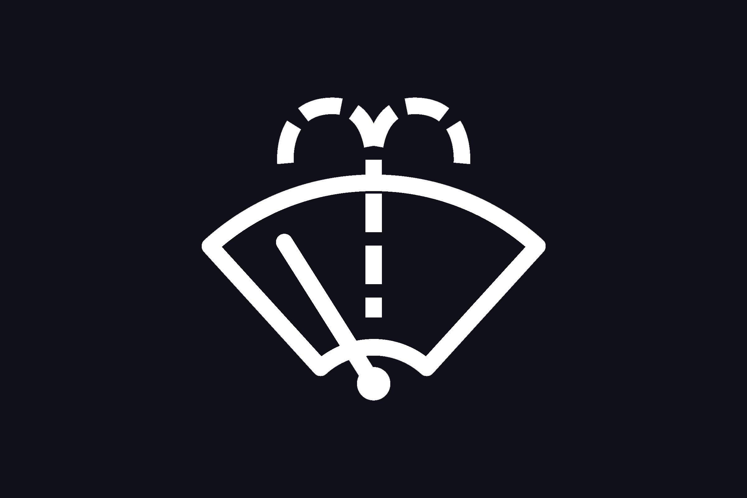 washer fluid symbol