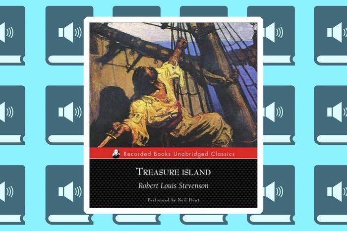 best audiobooks for family roadtrips treasure island