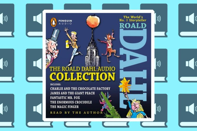 the roald dahl audiobook collection best books for road trips