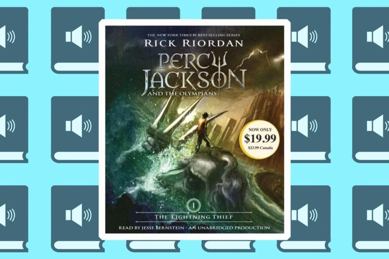 percy jackson and the olympians best audiobooks for road trips