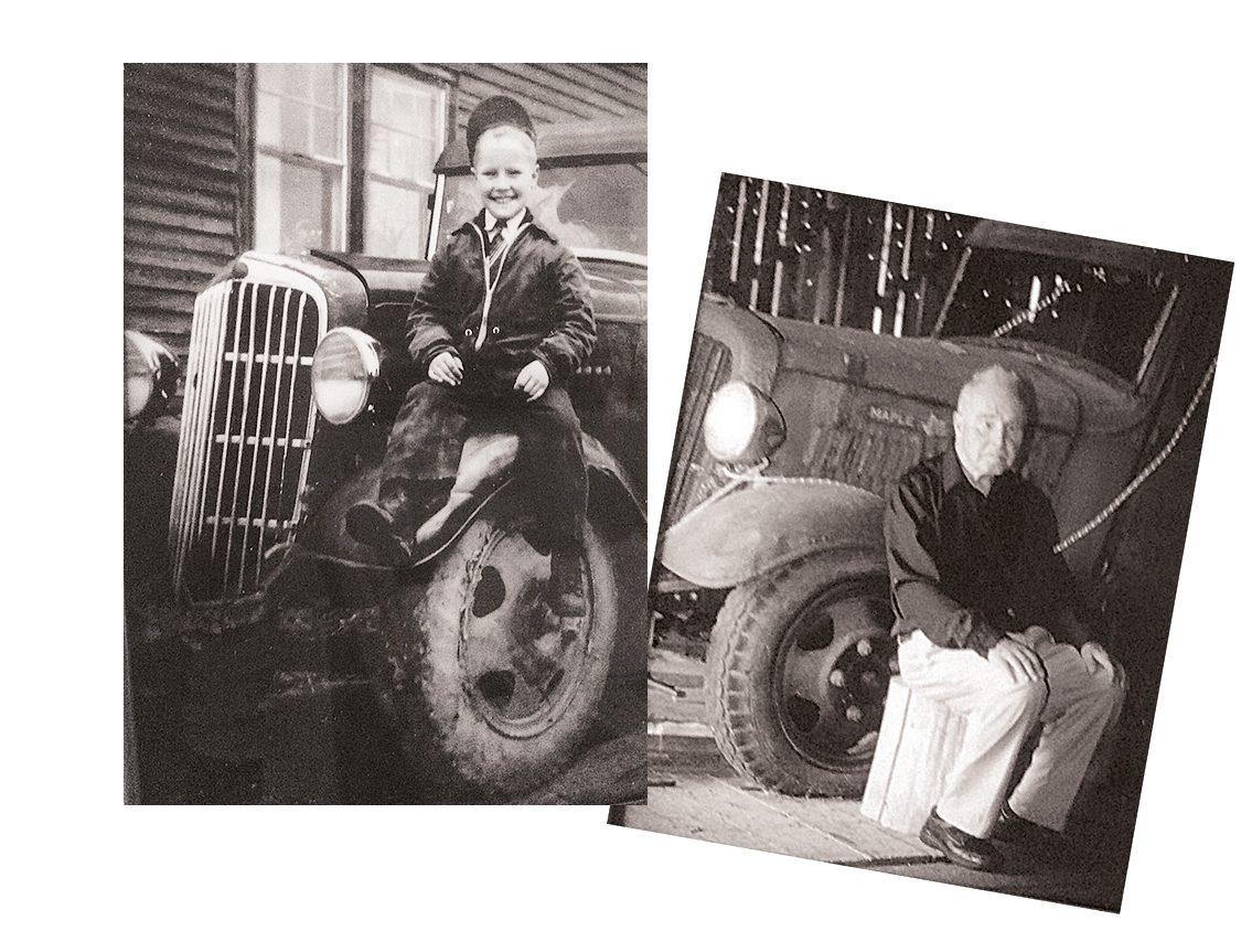 1935 Maple Leaf - 70 years apart