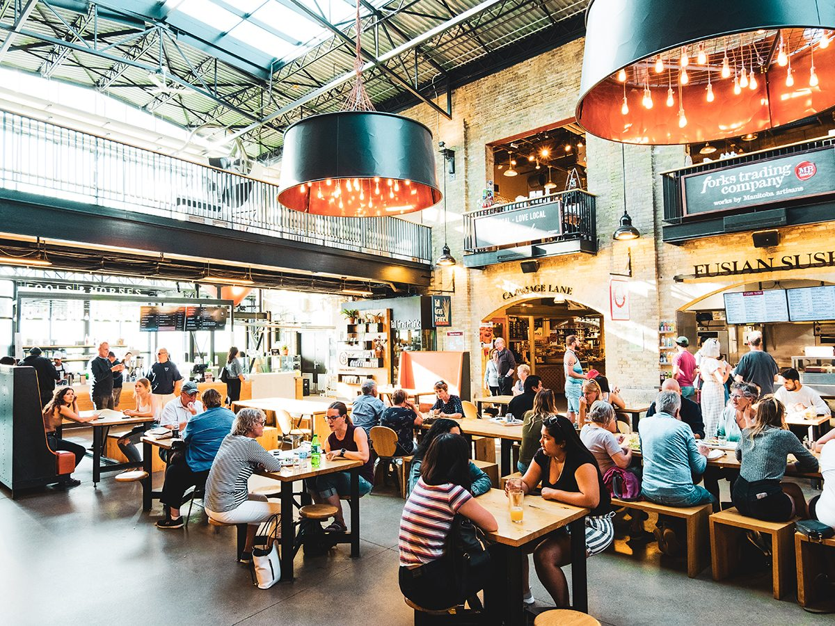 Things to do in Winnipeg - The Forks Market