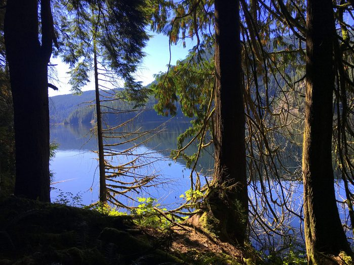 Buntzen Lake near Port Moody, BC