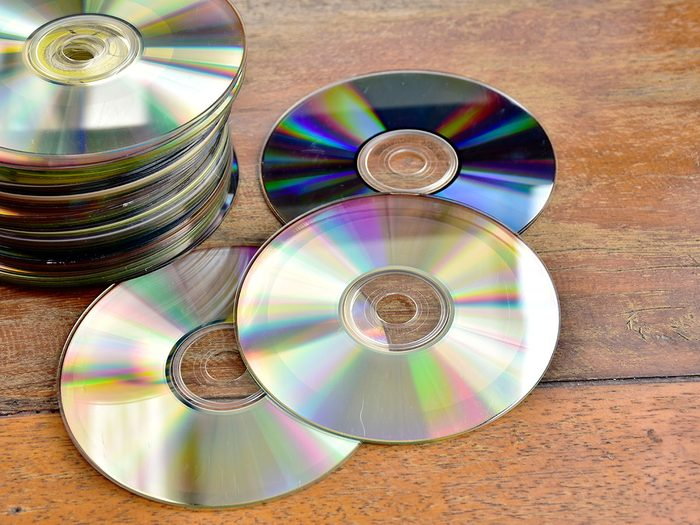 Scratched CDs