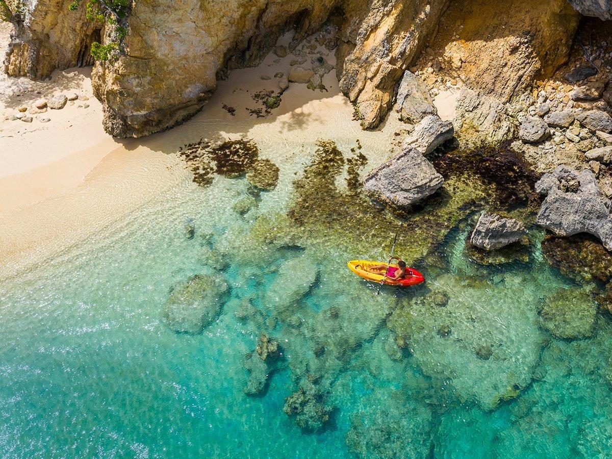 Best Caribbean Beaches - Little Bay, Anguilla