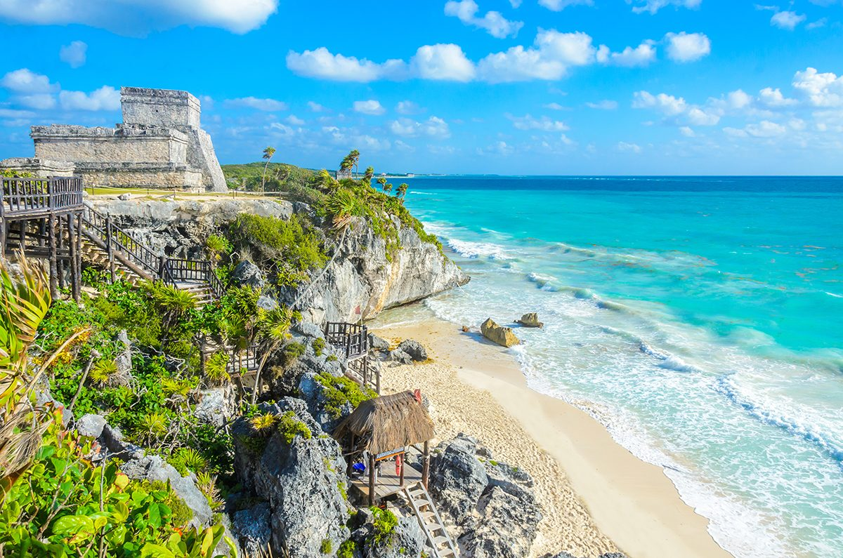 Best Caribbean Beaches - Tulum, Mexico