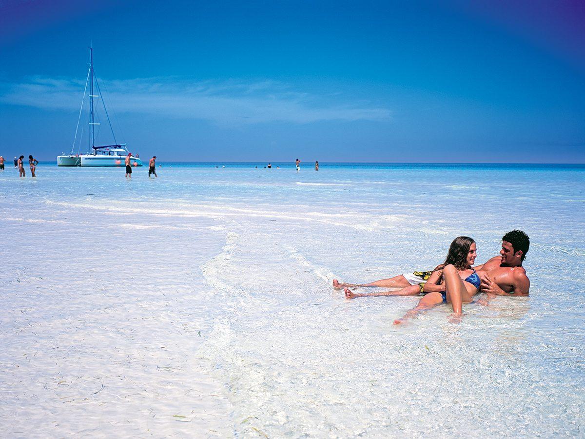 Best Caribbean beaches - Varadero Cuba couple