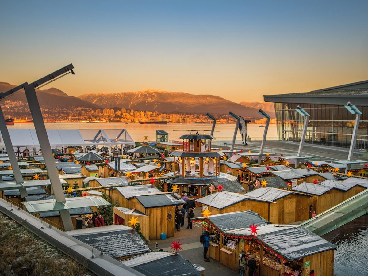 Holiday markets - Vancouver Christmas Market
