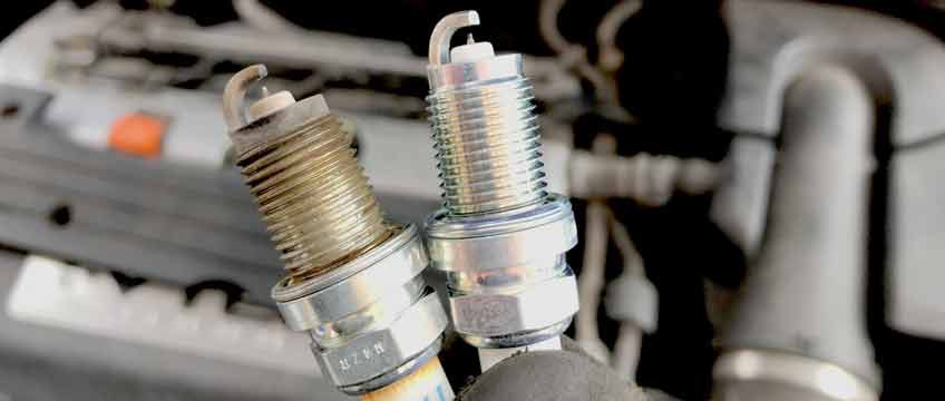 Changing spark plugs - two spark plugs
