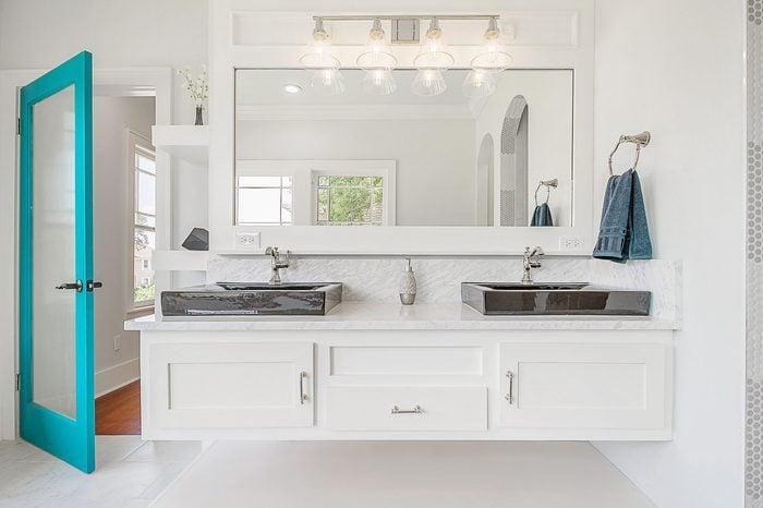 Luxury Bathroom Updated Remodeled White Beautiful