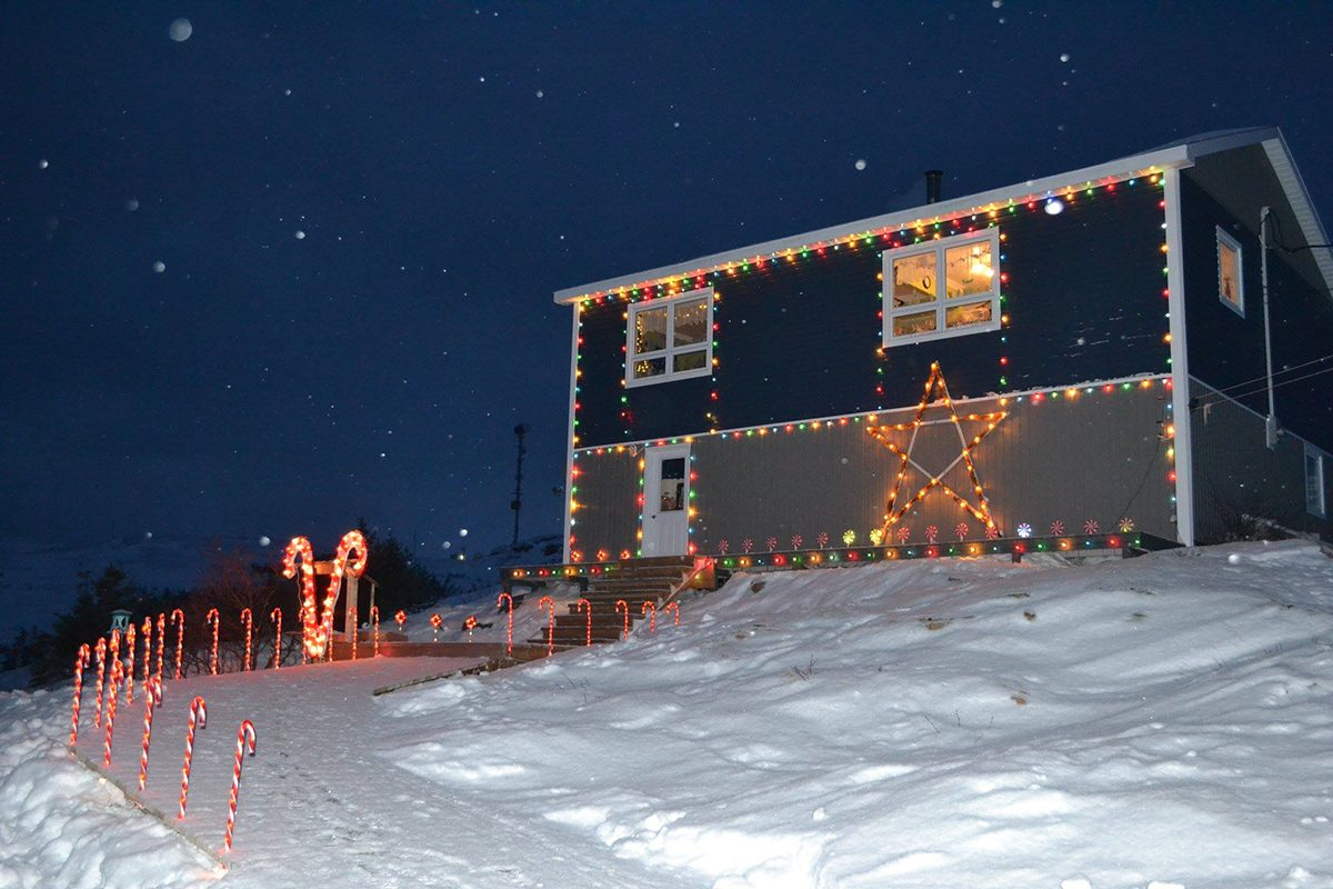 Deck the halls - home exterior lights