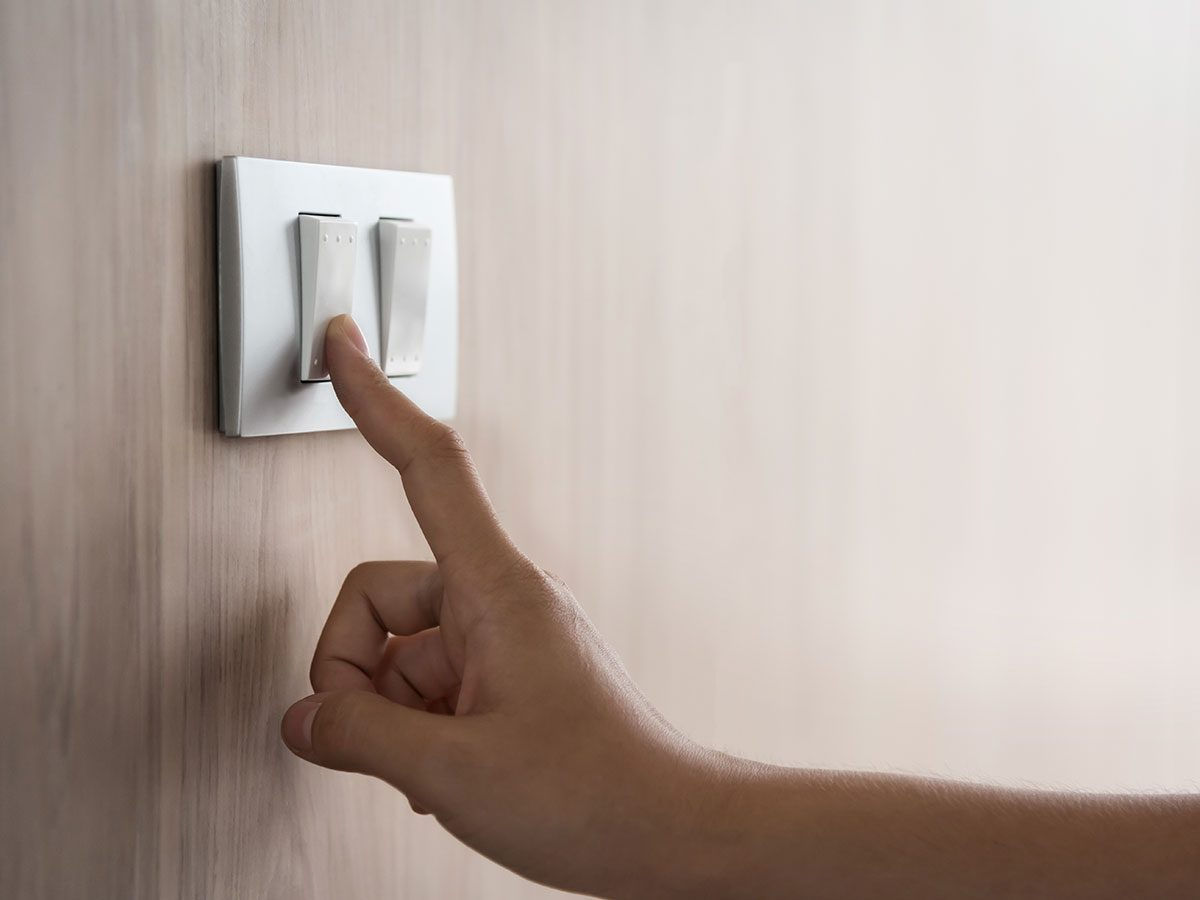 DIY jokes - light switch