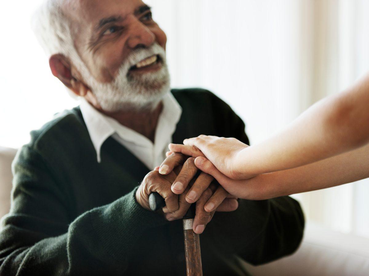 Visiting a nursing home