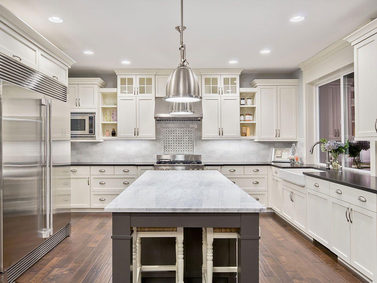 Hilarious DIY jokes - white kitchen