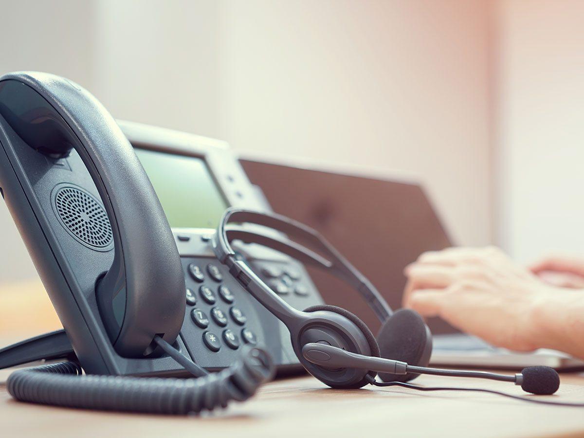 Hilarious work jokes - office phone