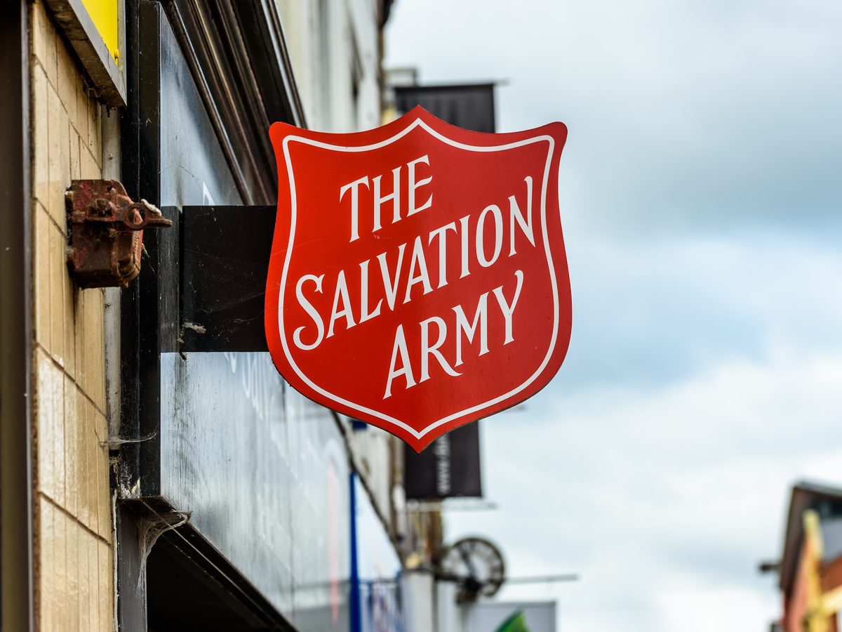 Salvation Army sign