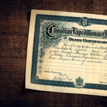 I'd Never Had a Personal Connection to Remembrance Day—Until I Discovered One Soldier's Death Certificate