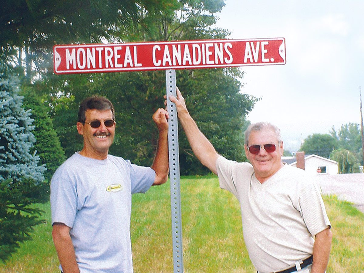 Welcome to Montreal Canadiens Avenue—in the Maritimes