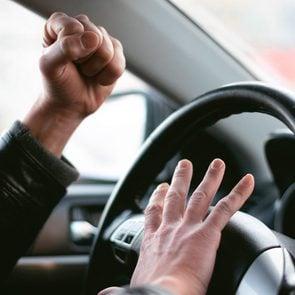Road rage - honking horn