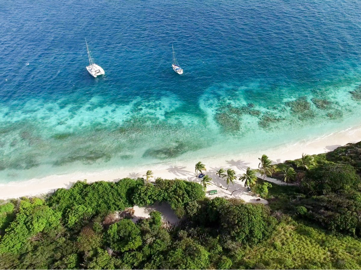 Beach in Saint Vincent and the Grenadines