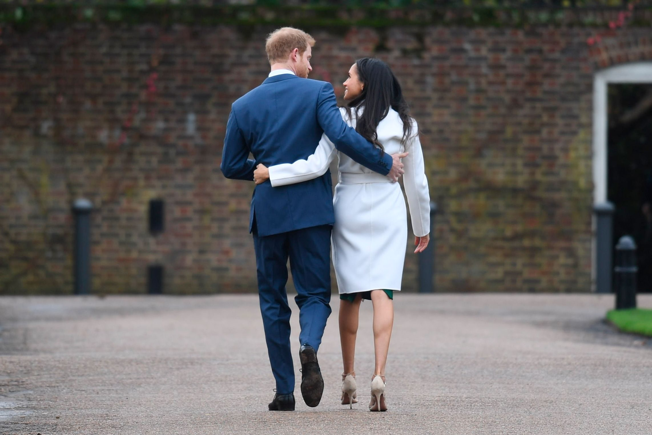 Mandatory Credit: Photo by Pete Summers/Shutterstock (9243875k) Prince Harry and Meghan Markle Prince Harry and Meghan Markle engagement announcement, Kensington Palace, London, UK - 27 Nov 2017