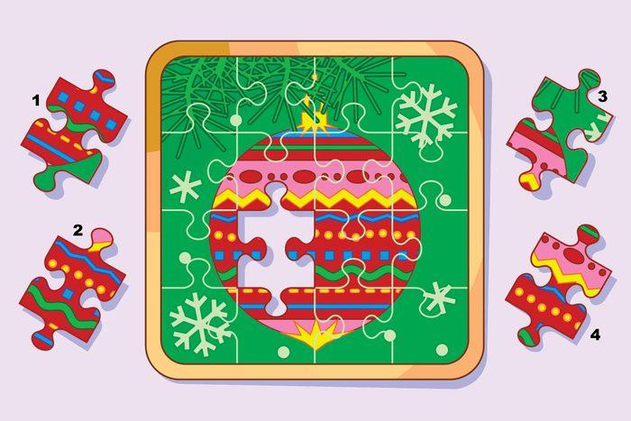 missing piece ornament puzzle question