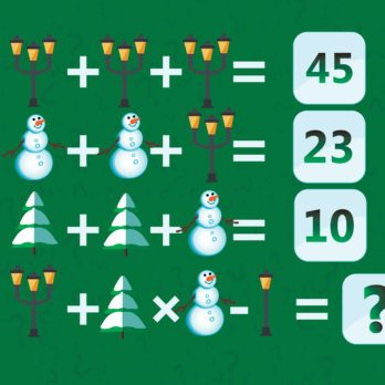 19 Christmas Brain Teasers That Are Almost Impossible to Solve