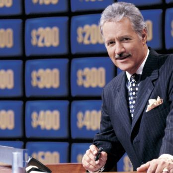 Why Alex Trebek Has a Bounced Cheque Framed on His Wall